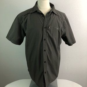 Columbia Platinum grey dry fast men shirt Sz L